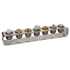 Contemporary Indoor Pots And Planters by luludi living art