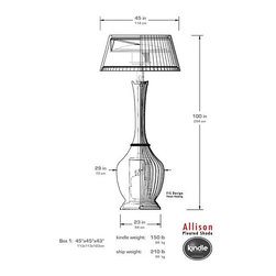 Allison - Specs of our Allison heater. By Kindle Living.