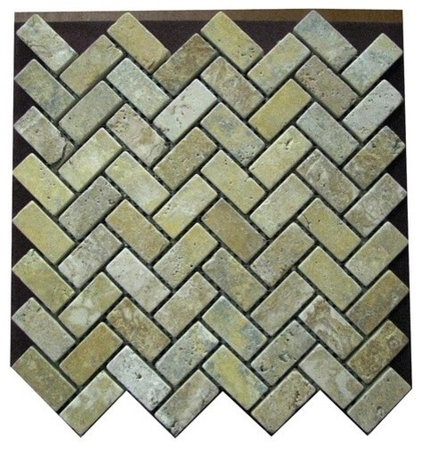 contemporary kitchen tile by Mosaic Tile Direct