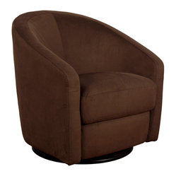 Madison Swivel Glider, Mocha