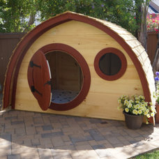 Contemporary Outdoor Playhouses by Etsy