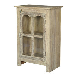Sierra Living Concepts - Palisade Reclaimed Wood Storage Console Cabinet - You will find many uses for this Palisade Reclaimed Wood Furniture Storage Cabinet --store your jar candles, collectibles, towels, CDs, paperback novels--you name it.