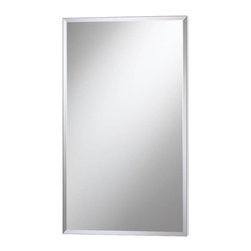 Lighthouse Distribution Corp - Broan-Nutone Premier Expressions Meridian Collection Surface Mount Electrical Me - Shop for Bathroom Cabinets from Hayneedle.com! The Broan-Nutone Premier Expressions Meridian Collection Surface Mount Electrical Medicine Cabinet - 15W x 25H in. will electrify your world. This frameless mirrored cabinet available with either beveled or polished edges features a 120-volt ground-fault circuit interrupter outlet for charging or operating any number of bathroom gadgets. As for the insides internal mirrors on the housing back and inside the door give this cabinet an extra-roomy appearance and two adjustable glass shelves snap into place for safety's sake. Don't worry lefties we didn't forget about you: this piece is also reversible for left- or right- handed opening. This cabinet's special flex-mount design allows for surface mounting. This cabinet measures 15W x 5D x 25H inches. The approximate opening dimensions are 14W x 4.25D x 24H inches.About Broan-NuToneBroan-NuTone has been leading the industry since 1932 in producing innovative ventilation products and built-in convenience products all backed by superior customer service. Today they're headquartered in Hartford Wisconsin employing more than 3200 people in eight countries. They've become North America's largest producer of medicine cabinets ironing centers door chimes and they're the industry leader for range hoods bath and ventilation fans and heater/fan/light combination units. They are proud that more than 80 percent of their products sold in the United States are designed and manufactured in the U.S. with U.S. and imported parts. Broan-NuTone is dedicated to providing revolutionary products to improve the indoor environment of your home in ways that also help preserve the outdoor environment.