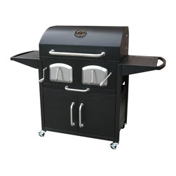 Landmann - Bravo Premium Charcoal Grill - -Large grilling capacity