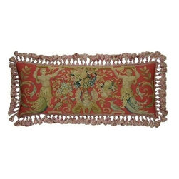 """EuroLux Home - New 14""""x36"""" Throw Pillow Flourishes - Product Details"""