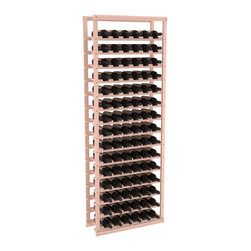 Wine Racks America - Baker Style Wine Rack Kit in Redwood, White Wash + Satin Finish - Practical and sincere, this wine rack kit is a subtle and beautiful addition to your wine cellar. Modeled after old-fashioned Bakers' Bread Racks, this rock solid kit will withstand extensive use. That's a guarantee. As a freestanding solution or included with a complete wine cellar, you'll love this rack.