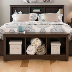 Fremont Bedroom Collection - Prepac Cubbie Bench