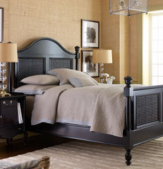 eclectic beds by Horchow