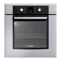 """Bosch 27"""" 300 Series Single Wall Oven With Convection, Stainless 