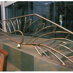 Custom Metal Railing - Custom Metal Railing by Bryan Tedrick. More at http://artmetallique.com/gates/