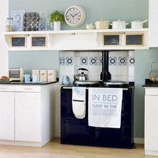 cream and blue kitchen - Google Search