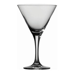 Schott Zwiesel - Schott Zwiesel Tritan Mondial Martini Glasses - Set of 6 - 0008.185534CPD - Shop for Drinkware from Hayneedle.com! Let the weekend begin with the Schott Zwiesel Tritan Mondial Martini Glasses - Set of 6. Created of high-quality Tritan crystal glass these stunning glasses have a lasting unforgettable sparkle. Elegance comes with ease with these dishwasher-safe beauties.About Fortessa Inc.You have Fortessa Inc. to thank for the crossover of professional tableware to the consumer market. No longer is classic high-quality tableware the sole domain of fancy restaurants only. By utilizing cutting edge technology to pioneer advanced compositions as well as reinventing traditional bone china Fortessa has paved the way to dominance in the global tableware industry.Founded in 1993 as the Great American Trading Company Inc. the company expanded its offerings to include dinnerware flatware glassware and tabletop accessories becoming a total table operation. In 2000 the company consolidated its offerings under the Fortessa name. With main headquarters in Sterling Virginia Fortessa also operates internationally and can be found wherever fine dining is appreciated. Make sure your home is one of those places by exploring Fortessa's innovative collections.