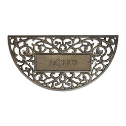 Frontgate Personalized Filligree Arch Entry Mat Our