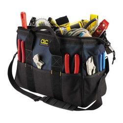 CUSTOM LEATHERCRAFT - Tool Bag 22 Pocket - 10 Pockets Outside and 12 Pockets Inside