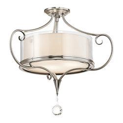 Kichler 3-Light Ceiling Light - Classic Pewter - Three Light Ceiling Light