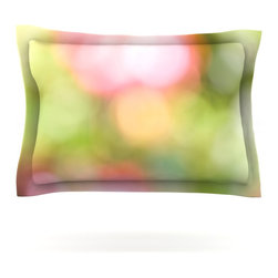 "Kess InHouse - Bree Madden ""Pastel Dreams"" Pillow Sham (Woven, 30"" x 20"") - Pairing your already chic duvet cover with playful pillow shams is the perfect way to tie your bedroom together. There are endless possibilities to feed your artistic palette with these imaginative pillow shams. It will looks so elegant you won't want ruin the masterpiece you have created when you go to bed. Not only are these pillow shams nice to look at they are also made from a high quality cotton blend. They are so soft that they will elevate your sleep up to level that is beyond Cloud 9. We always print our goods with the highest quality printing process in order to maintain the integrity of the art that you are adeptly displaying. This means that you won't have to worry about your art fading or your sham loosing it's freshness."