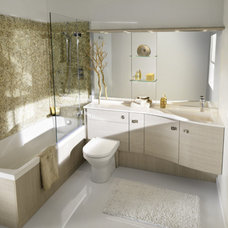 Modern Bathroom Cabinets And Shelves by AMBIANCE BAIN