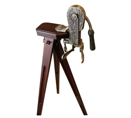 Rogar - Tripod  Cherry, Cherry Wood - Dimensions:  45 Inches high