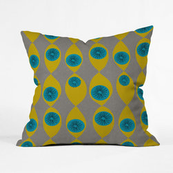 Eye of the Beholder Throw Pillow Cover - This design was a hit back in the day. It's made a comeback, so pour yourself a cold martini, grab this cozy pillow cover, and watch the last season of your favorite mid-century television show.