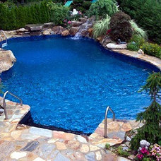Swimming Pools And Spas by International Iron and Stone LLC