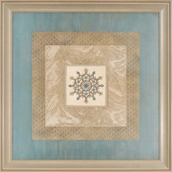 Paragon Decor - Acori II Artwork - Exclusive Hand Painted Mixed Media - Mounted on Board