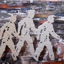 Pedestrian Crossing Series - City Boys  #10562012