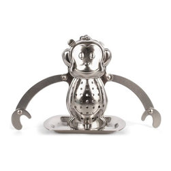 Monkey Tea Infuser - There is no time for monkeying around. Make tea time fun!