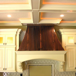 Art of Rain - Craftsman Range Hood - Art of Rain manufactures high end copper and wooden range hoods in any style. Each range hood is hand made with best quality and care!