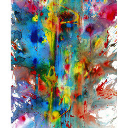 Chaotic Craziness Series 1992.033014 - Original Abstract Painting (Original) by - Original Abstract Modern Contemporary Paintings & Art More then just a painting for your walls.