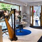 Hästens beds showroom in Stockholm - Bjoorn.com