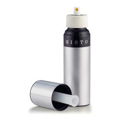 Lifetime Brands - Misto Stainless Steel Bottle Oil Sprayer - MISTO Stainless Steel Bottle Oil Sprayer. Just fill pump and spray without chemicals or propellants. Perfect for grilling roasting sauteing and basting without brushes. Simply add your favorite oil and spray on pasta pizza salads veggies and more. Use on all types of cookware. Fill with liquid before pumping. This will insure that enough pressure is created when you pump. Silver