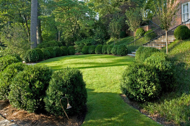 Traditional Landscape by Golightly Landscape Architecture