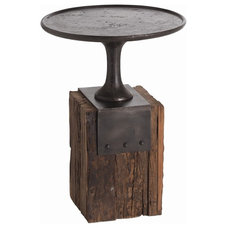 Industrial Side Tables And Accent Tables by Masins Furniture