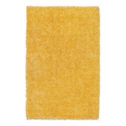 Dalyn - Shag Bright Lights 8'x10' Rectangle Lemon Area Rug - The Bright Lights area rug Collection offers an affordable assortment of Shag stylings. Bright Lights features a blend of natural Teal color. Hand Tufted of Polyester the Bright Lights Collection is an intriguing compliment to any decor.