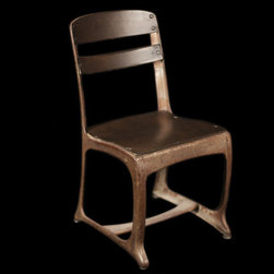 Wood and Metal Classroom Chairs - Vintage elementary school classroom chairs. Constructed of sturdy wood and metal and in excellent condition with normal signs of aging.
