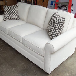 2014 Customer Custom Orders - Craftmaster F9 Sofa at Barnett Furniture in Trussville / Birmingham, Alabama.  You Choose the Fabric.