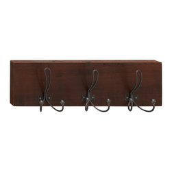 Perfect Wood Metal Wall Hook - Description: