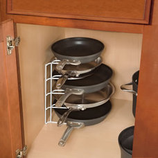 cabinet and drawer organizers Rubbermaid Pan Organizer