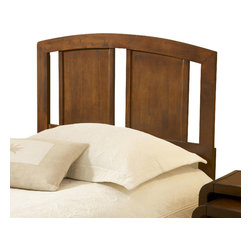 Hillsdale Furniture - Hillsdale Sophia Wood Headboard with Rails in Natural - Full / Queen - When is plain and simple not so plain and simple? When your re looking at Hillsdale Sophia headboards! solid wood construction is enhanced by four wonderful finishes: natural, black, red and white. The arched silhouette contrasts with the clean, straight line horizontal slats, creating a unique visual. If your re wanting a traditional wood headboard with a little pop, look no further than the Sophia headboard.