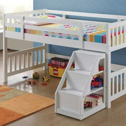 Kids Bedroom Inspiration - Warm design and functional character of this bed will be a wonderful addition to your child's bedroom.