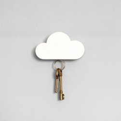 Cloud Key Holder - Is this worth painting your wall gray for? I think so!
