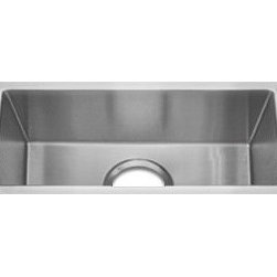 Undermount Single Bowl Specialty Stainless Sink - A nice sized undermount prep sink. We love to put a second sink in kitchens that have room, it makes a huge difference!