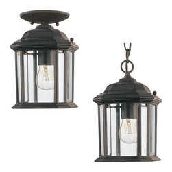 Sea Gull Lighting - Sea Gull Lighting 60029 1 Light Outdoor Pendant from the Kent Collection - Sea Gull Lighting 60029 Traditional / Classic 1 Light Outdoor Pendant from the Kent CollectionFeatures: