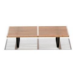 Herman Miller - Herman Miller   Nelson™ Platform Bench - Design by George Nelson, 1946.