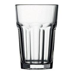 Hospitality Glass - 5H X 3.5T X 2.5B Casablanca 14 oz Beverage Glasses 24 Ct - Casablanca 14 oz Beverage