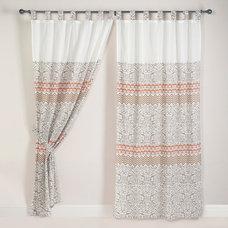 Zuni Print Voile Curtain   World Market