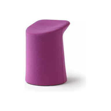 Lilla Chair By Artifort - An invitation to sit down, reduced to the most simple expression like a tree-trunk in a residential environment or where ergonomics serve the body. This object evolves in the middle of a space as a playful and simple seating element which distinguishes itself in both color and material. Designed by Patrick Norguet, 2006