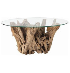 eclectic coffee tables by Clayton Gray Home