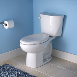 American Standard Evolution 2 Right Height Elongated Toilet - •Combination bowl and tank, less seat