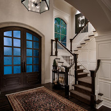 Mediterranean Entry by Calvis Wyant Luxury Homes